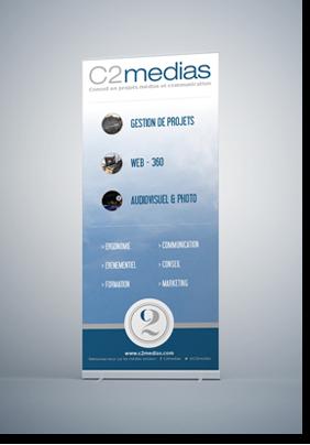 Supports de communication - C2medias